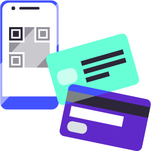 TSS - Mifare, QR codes, payment cards, city card