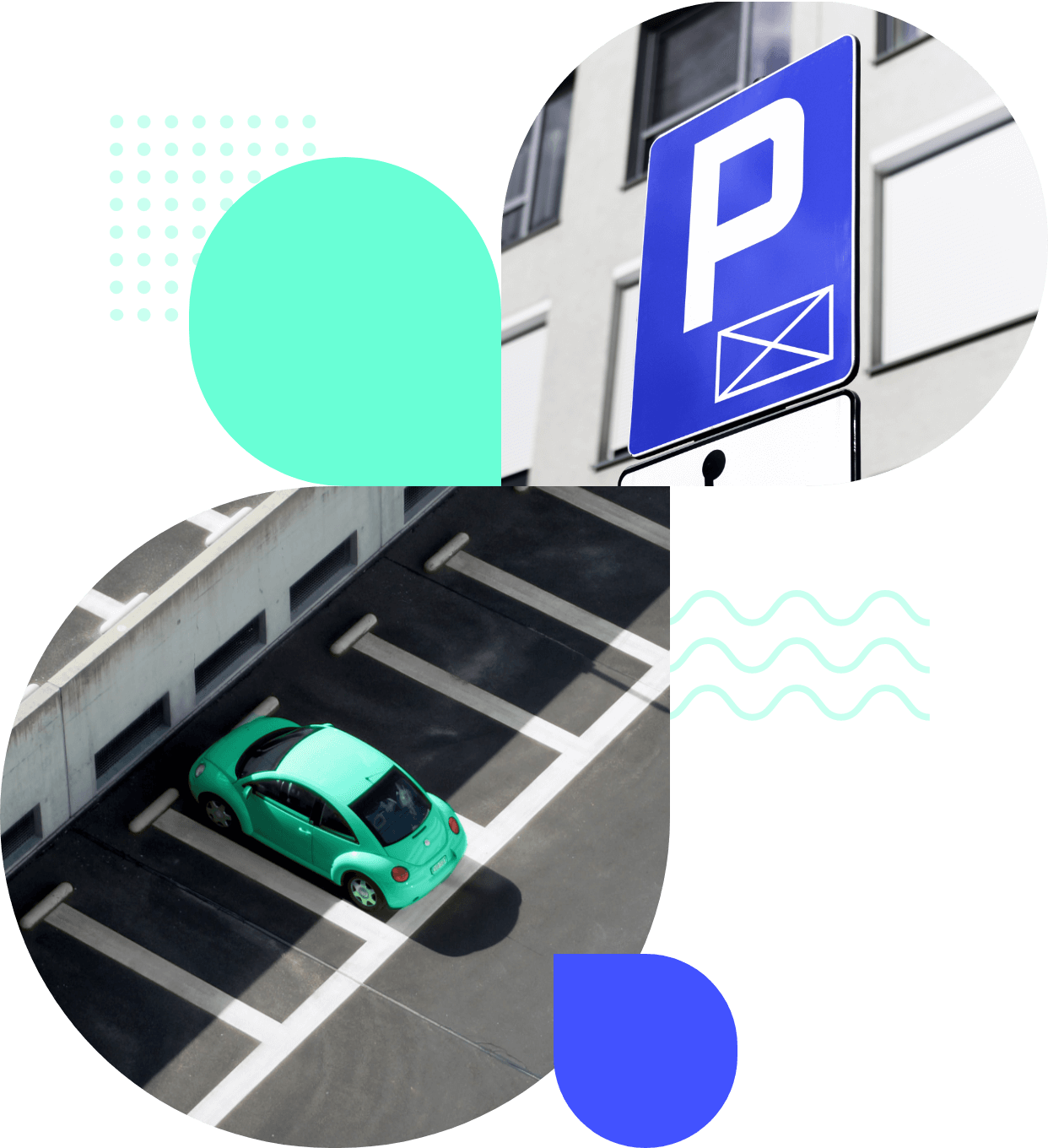 Electronic ticket in parking systems