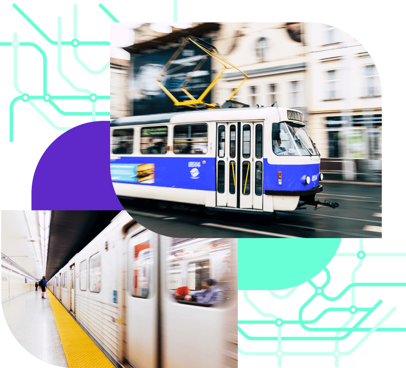 Electronic ticket in public transport system in your city/town